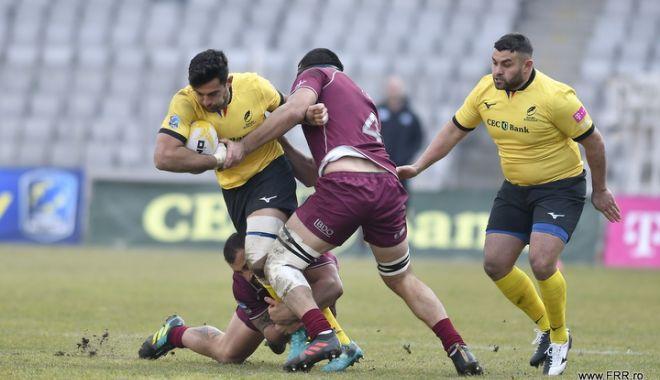 Foto: Debut trist pentru naționala României, la Rugby Europe International Championship