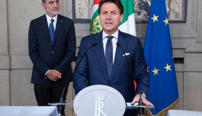 Foto: Decizie importantă pentru Italia. Deputații au votat noul guvern Conte