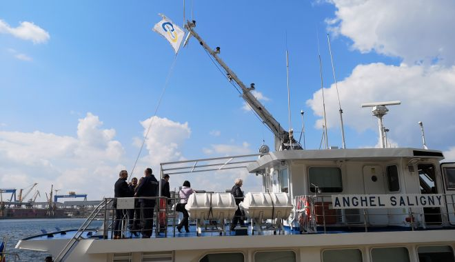 Foto: Delegație a Comisiei Europene, în vizită de lucru în portul Constanța