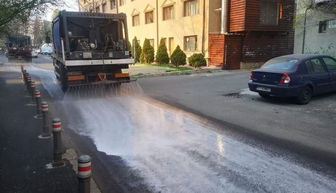 Foto: Pe ce străzi se realizează dezinfecția în această seară în Constanţa