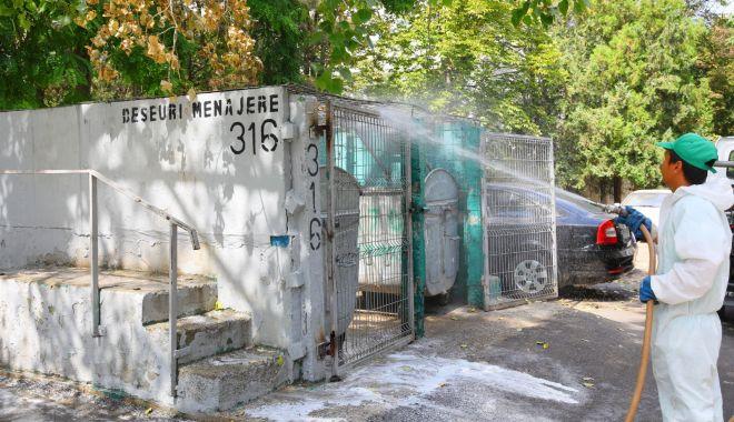 Dezinfecție permanentă la platformele de deșeuri din cartierele Constanţei - dezinfectiepermanenta-1600796824.jpg