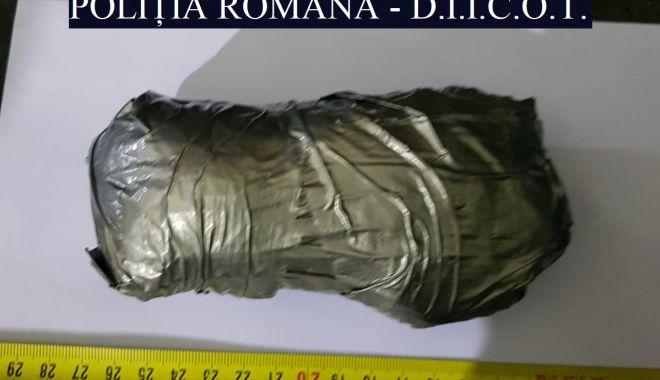 Foto: Cocaină adusă din Olanda pentru a fi vândută în Constanța, confiscată pe A2!