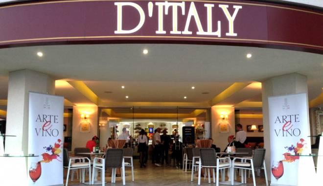 Foto: Degustare de vinuri la D'Italy, în Mamaia