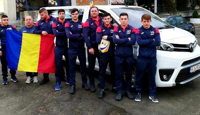 Foto: Doi luptători de la CS Farul, la Europenele U23, de la Novi Sad