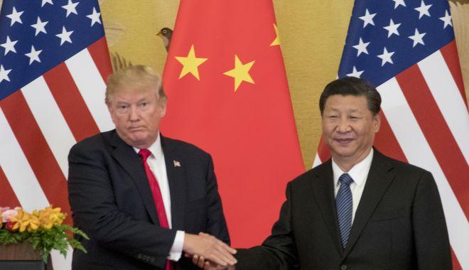 Foto: Donald Trump salută reacția Chinei la manifestațiile din Hong Kong