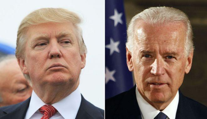 """Foto: Donald Trump salută """"incredibila revenire"""" a lui Joe Biden"""