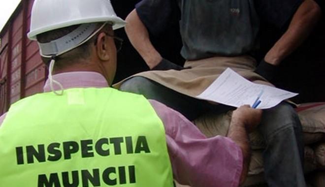 Foto: Dosare penale pentru patronii prinși cu muncitori la negru