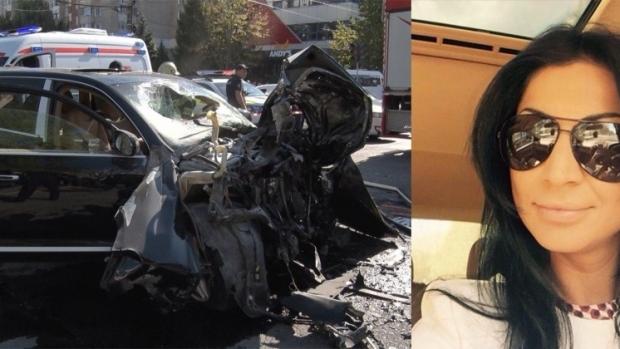 Foto: A murit șoferița beată, care a intrat cu un Porsche într-un troleibuz!