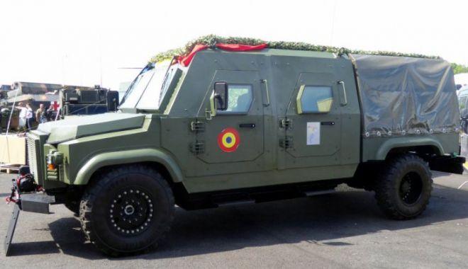 Foto: Cum arată noul bolid militar românesc, Dracon, produs fulger în 45 de zile