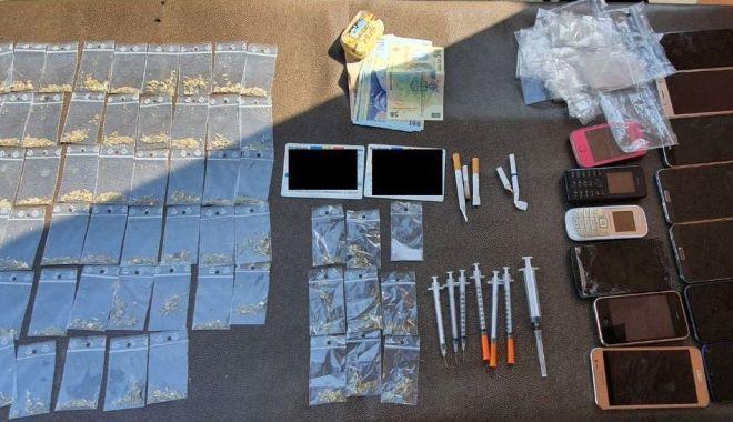 Foto: Constanța aprovizionează cu droguri județele din jur. DIICOT a intrat pe fir