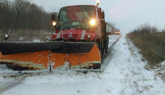 Drumurile judeţene din Constanţa, închise! Se lucrează pentru curăţare - drumuri-1611824028.jpg