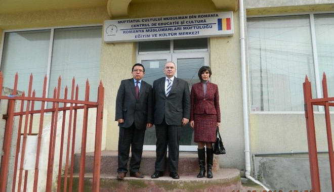 Foto: Ambasadorul Republicii Turcia, în vizită la Constanța