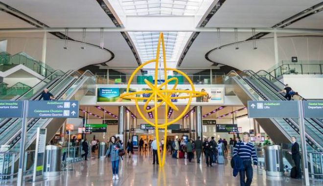 Foto: Doi români, arestați pe aeroportul din Dublin