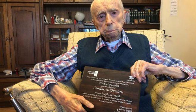 A murit Dumitru Comănescu. Devenise recent ce mai vârstnic bărbat din lume - dumitrucomnescu-1593267944.jpg