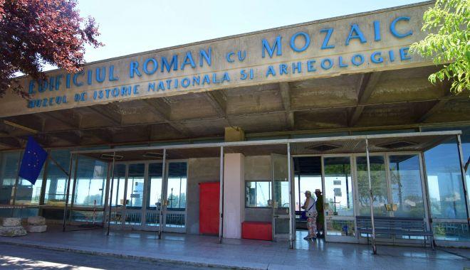 Foto: Edificiul Roman cu Mozaic își așteaptă vizitatorii