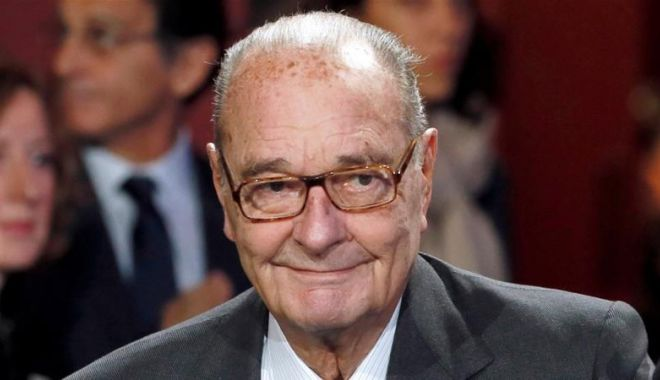 Foto: A murit fostul președinte francez Jacques Chirac!