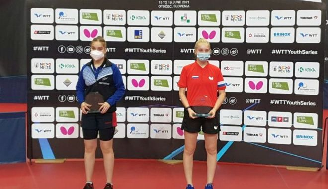 Elena Zaharia, medaliată cu argint la turneul de tenis de masă de la Otocec - elena-1623954578.jpg
