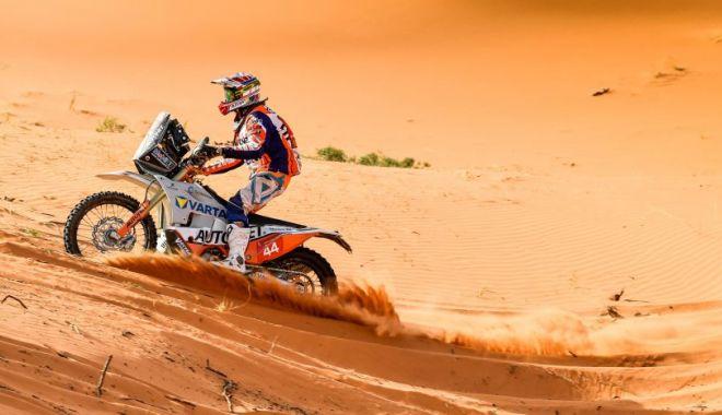Raliul Dakar 2021 / Claudiu Barbu şi Marius Lupu au încheiat pe 40 etapa a şasea la SSV - emanuelgyenesraceactionetapa6dak-1610187759.jpg