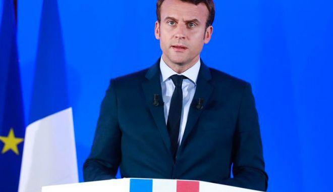 Foto: Emmanuel Macron îndeamnă la un dialog strategic cu Rusia