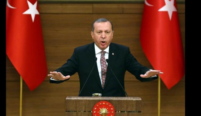 Erdogan amenință să distrugă