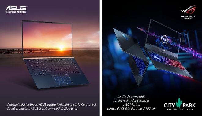 ASUS prezintă noile laptopuri ZenBook la City Park Mall din Constanța, organizând și noi turnee de gaming - evenimentasus-1551363462.jpg