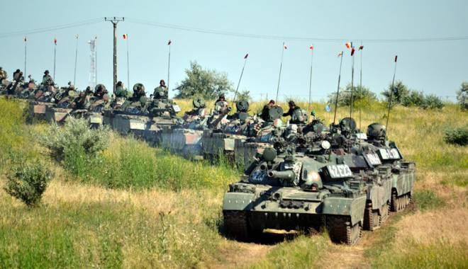 Foto: Exercițiu militar de amploare la Capu Midia.  Șeful Statului Major, prezent la acțiune