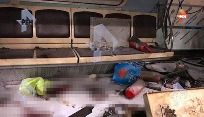 Foto: FOTO. Explozie la metrou / Numărul victimelor a ajuns la 11. Sankt-Petersburg în doliu - UPDATE