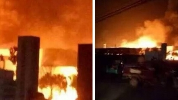 Foto: Șapte morți în urma unei explozii la o uzină