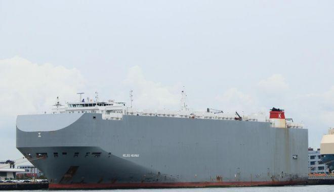 Explozie la bordul unei nave car carrier, în Golful Oman - explozielaborduluneinavecarcarri-1614502303.jpg