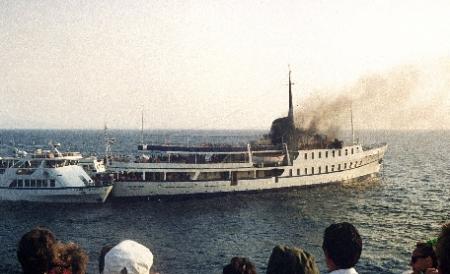 Foto: Un mort și cinci răniți la Kos, în Grecia, după o explozie produsă pe un vapor turistic