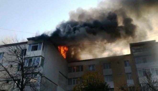 Foto: Tânărul ars în explozia din Piatra Neamț va fi transferat în Belgia cu un avion al MApN