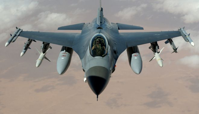 Foto: Un F-16 belgian s-a prăbușit! Ce se întâmplă cu cei doi piloți