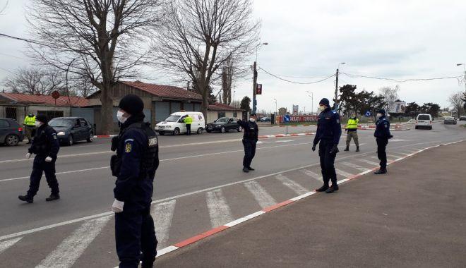 Foto: RAZIE DE AMPLOARE ÎN CONSTANȚA! Poliția și Jandarmeria verifică TOT CE MIȘCĂ!