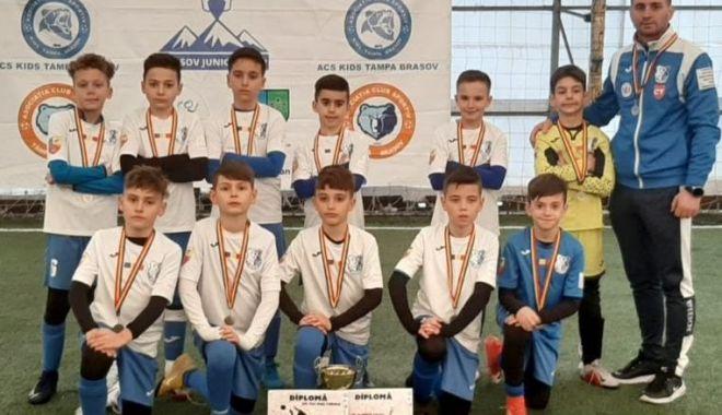 """Foto: FC Farul U10, medalii de argint la """"Balkan Elite Cup"""""""