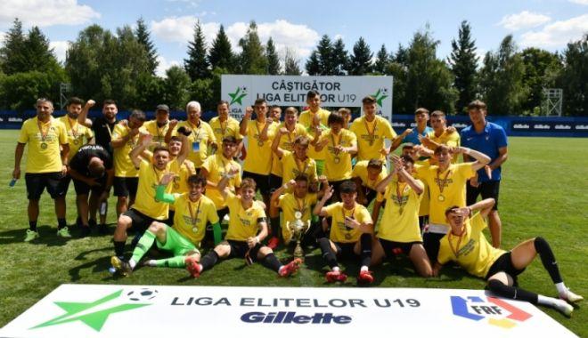 Foto: FC Viitorul U19, campioană pentru a opta oară în ultimii nouă ani