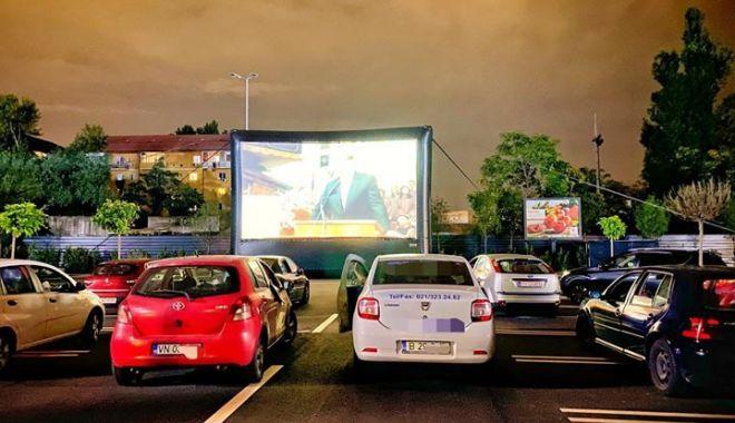 Foto: Festival de filme drive-in, pe litoral