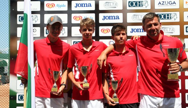 Foto: Final de competiție la Tenis Club Bright. Bulgaria este campioană. România, doar locul 4