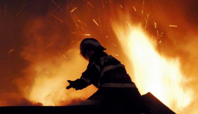 Incendiu puternic în judeţul Constanţa. O fabrică de pâine a fost cuprinsă de flăcări uriaşe - foc-1632204175.jpg
