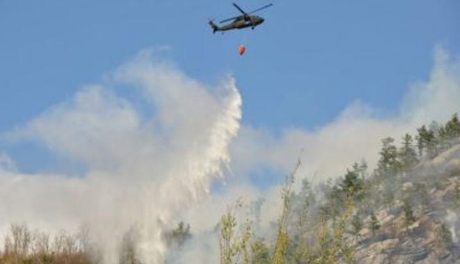 VIDEO / Incendiu pe Transfăgărășan: Un elicopter a fost chemat de la Iași să intervină - foc2-1524410204.jpg