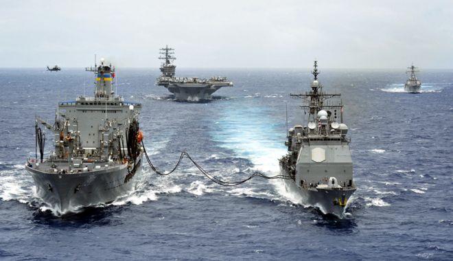 Foto: Marea Neagră, sub amenințarea Rusiei. Șeful Marinei Române, în alertă