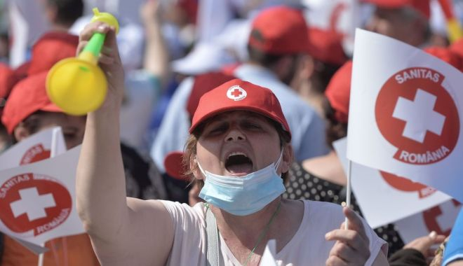 """Cadrele medicale ameninţă cu greva. """"Nu s-a făcut plata stimulentului Covid în totalitate!"""" - fond-1601924416.jpg"""