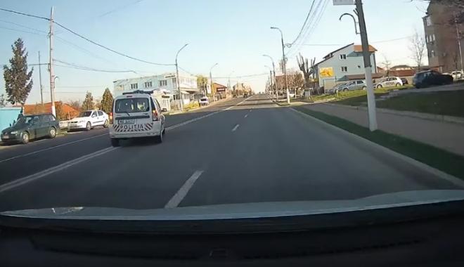 Foto: VIDEO / Pentru unii mumă, pentru alții ciumă! Polițiștii care încalcă legea, acoperiți de IPJ Constanța