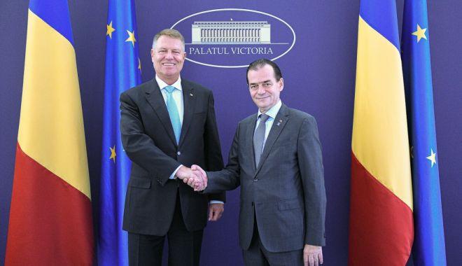 """Foto: Președintele Iohannis și premierul Orban s-au hotărât! """"Vrem alegeri anticipate"""""""