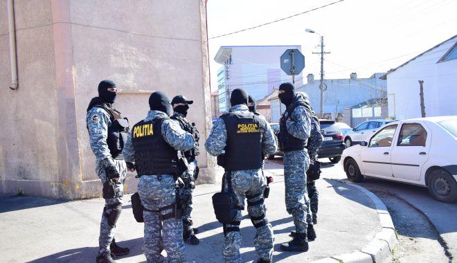 Foto: Percheziții în Constanța. Captură la traficanții de droguri: kilograme de cannabis, valută și arme!