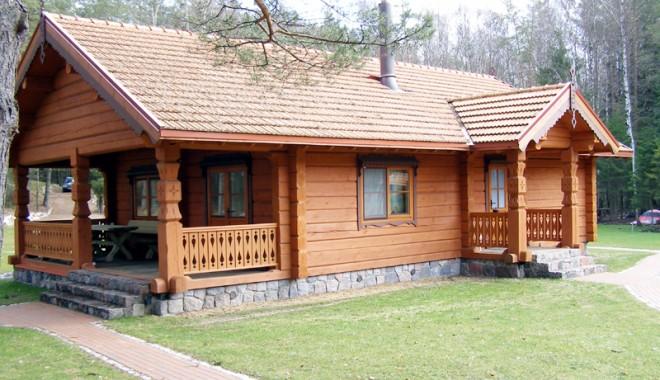 Foto: Vrei casa visurilor tale? Cum e mai bine, din lemn sau din cărămidă?