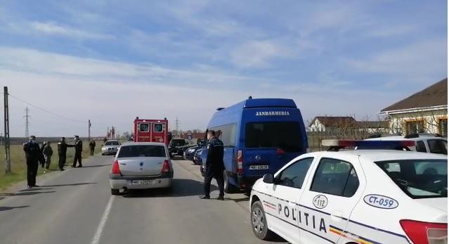 Carantina din comuna Cuza Vodă, ridicată.