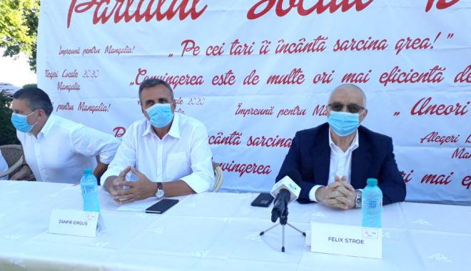 Foto: PSD vrea să câștige Primăria Mangalia cu Zanfir Iorguș