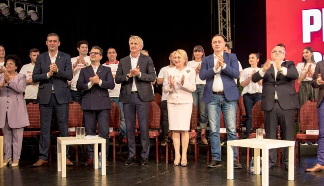 """Foto: Cum au votat constănțenii. Mai joacă PSD """"cartea"""" cu Viorica Dăncilă?"""