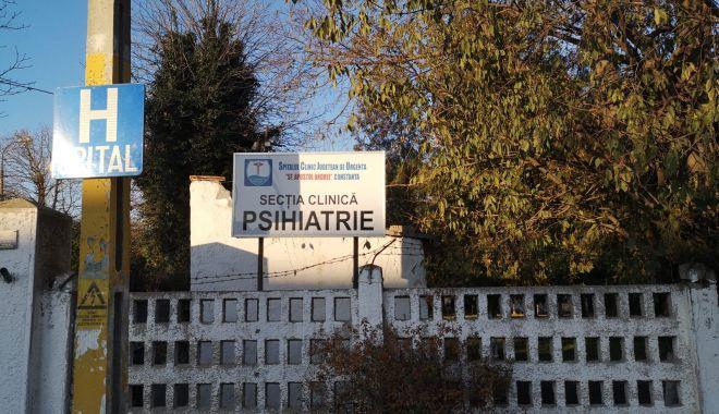Foto: Secția de Psihiatrie Palazu Mare, schimbare majoră!
