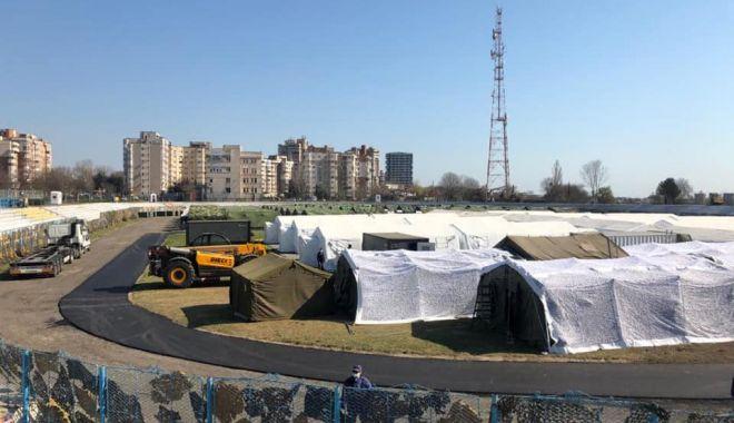 """Foto: Prefectul George Niculescu: """"Spitalul militar, aproape gata! Mai are nevoie de avize!"""""""